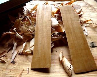 Handmade Maple Bookmark