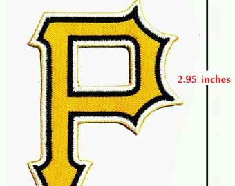 Pittsburgh PIRATES Sport Logo Embroidery iron-sewing-patch on fabric