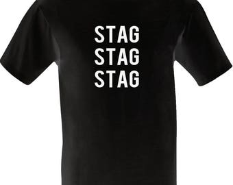 Stag Party Shirt / Funny Stag Tshirt / Lads Lads Lads / Group T-Shirts / Bachelor Party / Wedding Gift / Stag Night/ Marriage Joke / Tees