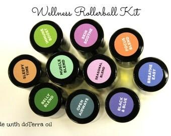 Wellness Rollerball Kit