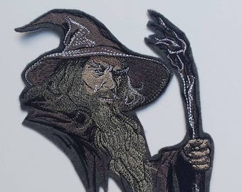 Gandalf patch, lord of the rings patch