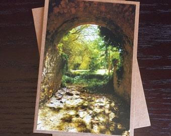 Handmade Photo Card - Adelaide Hills Arch- JGP03