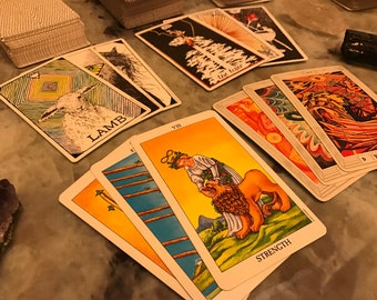 Customized Tarot Reading (Tallahassee area only)