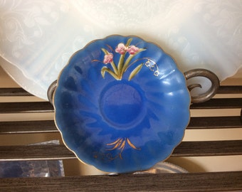 Rare Vintage China Hand Painted Saucer Buntyn Pottery 3335 Tenn Lilly of the Valley