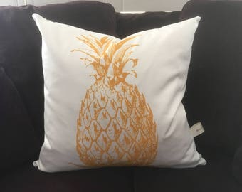 Pineapple Throw Pillow Cover