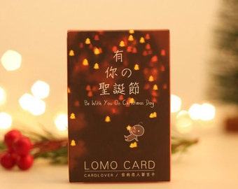 Christmas Polaroid Greeting Cards Paper Blessing Card
