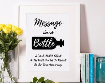 Bathroom Guest Sign In Book wedding bathroom basket sign / wedding bathroom kits sign /