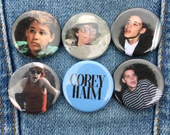 Corey Haim badges