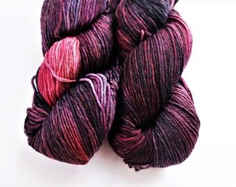 Malabrigo Superwash Merino Knitting Yarn, Sport weight,  Arroyo  Hand-Dyed Yarn