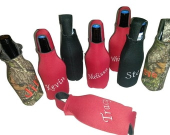 Beer Bottle Insulated Covers - Personalized & Bee/Bug resistant