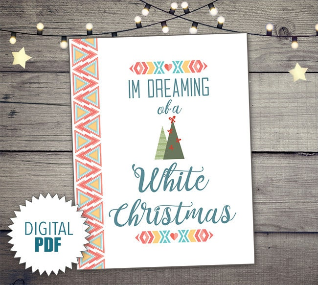 Christmas Card Template ChristmasBoho Christmas CardBohemian