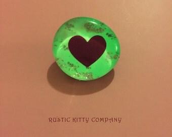 Heart Glow Pin