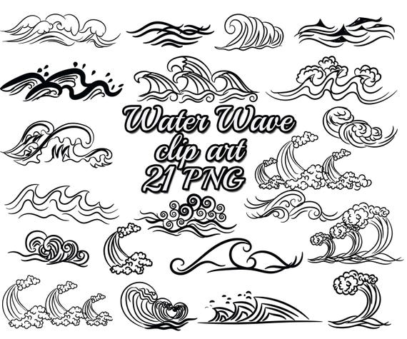 Wave Clip Art: WATER WAVE CLIPART Nautical