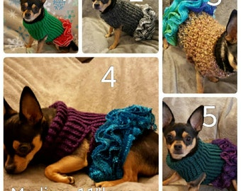 CLEARANCE DOG SWEATERS