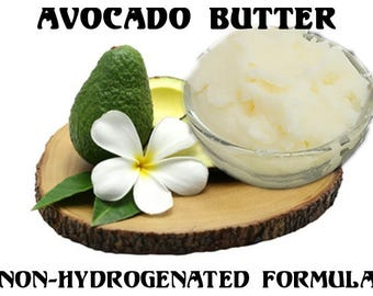 SHIPS For 1 penny  Avocado Butter Cold pressed Virgin or Refined Non-hydrogenated Formula samples-10 lbs