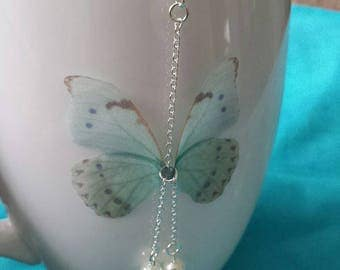 Butterfly earrings - fairy wings - a few - no real butterfly wings