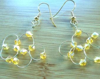Elegant Honey Earrings