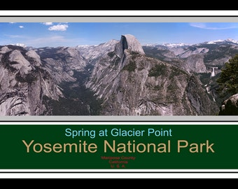 Spring at Glacier Point - Yosemite National Park