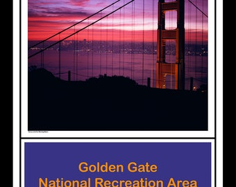 Venus and the Waning Moon - Golden Gate N. R. A.