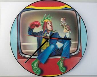 "Marillion - 'Punch And Judy' 12"" Record Clock"