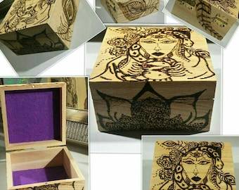 Pagan / Wiccan Altar Box