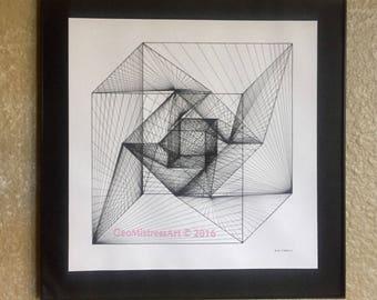Double Tesseract (Print)