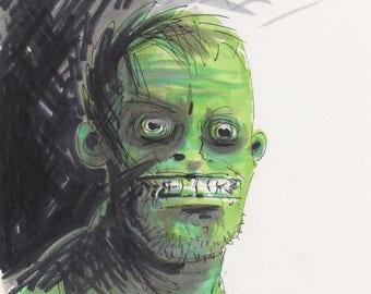 Crazy Zombie!