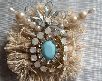 Wedding Jewelry Hair brooch