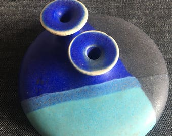 1970s vintage ceramic vessel