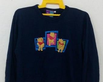 Rare!! Pooh sweatshirts M size