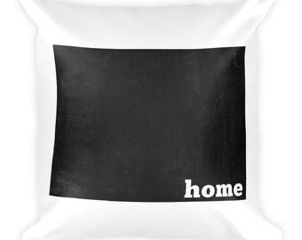 Colorado Pillow, Colorado Gifts, Colorado Decor, Colorado Home, Colorado Throw Pillow, Colorado Art, Colorado Map, Colorado Made, Cushion