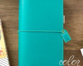 Traveler's Notebook - Webster's Pages Color Crush - Jade