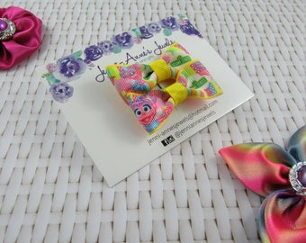 Bow Tie Hair Clip - Set of 2 - Abby Cadabby