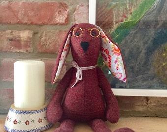 Handmade Tweed Hare Rabbit