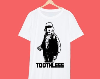 Dustin Stranger Things 'Toothless' T Shirt