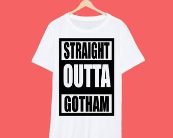 Straight Outta Gotham Batman T Shirt