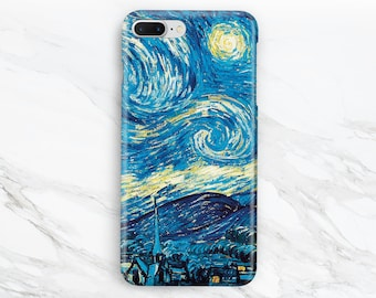 iPhone 7 case van gogh iPhone 6 case iPhone 6s starry night iPhone 5s case iPhone 4 case Samsung galaxy s6 Samsung s7 edge Samsung note 5 LG