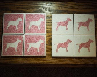 English Bull Terrier Coasters