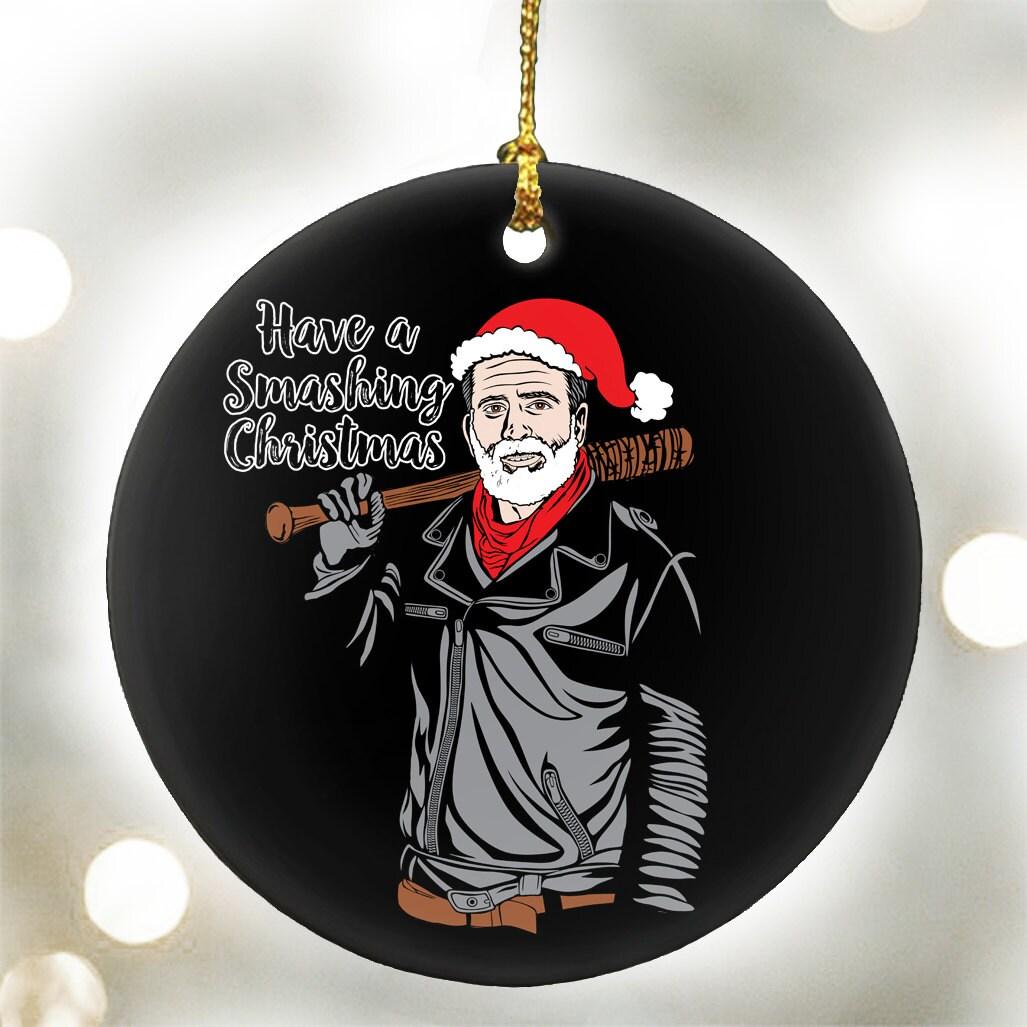 Have a Smashing Christmas Santa Negan The Walking Dead