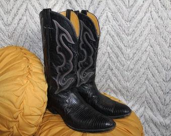 Mens Vintage Cowboy Boots