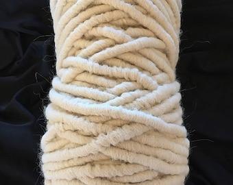 Alpaca Rug Yarn for Weaving, Knitting, Crochet or Crafting
