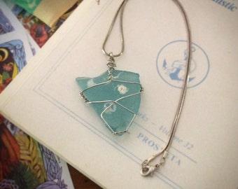 Delphine Seaglass Pendant