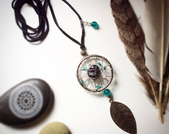 Udaasee Changa upcycled reclaimed repurposed Healing Talisman Pendant