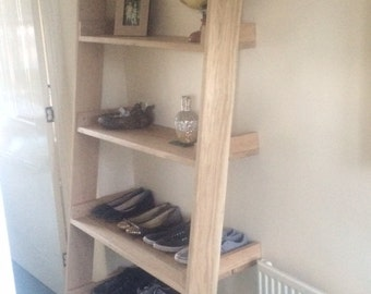 Handmade Oak Shelving
