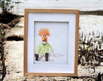 Original Art - Drawing - Beaker (Muppets)