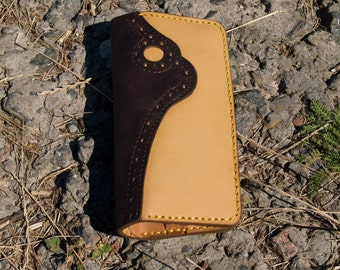 Handmade Genuine Leather Wallet. Woman's wallet.+2PROMO, Long Wallet. Designer Wallet.