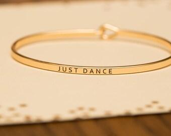 """Bangle Bracelet, """"Just Dance"""""""
