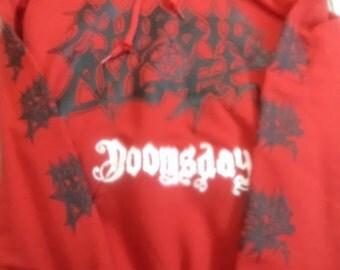 New Morbid Angel - Doomsday - Hoodie - size Small and Medium - Carcass,Massacre,Death,Entombed,