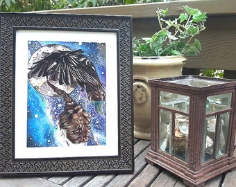 Cosmic Dreams Print with Frame