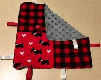 Couverture à Ruban/Tag Blanket
